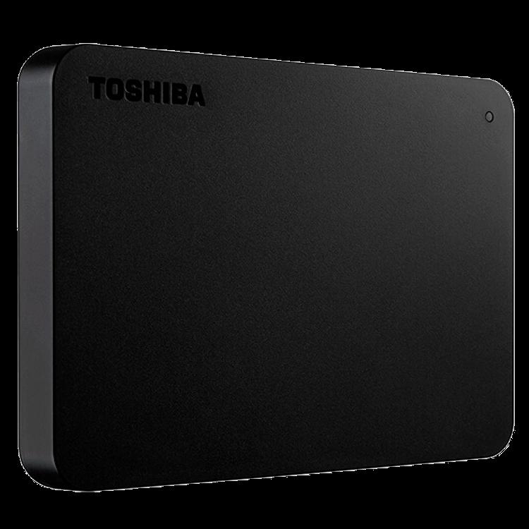 HD Externo Portátil Toshiba Canvio Basics 1TB USB 3.0 Preto - HDTB410XK3AA
