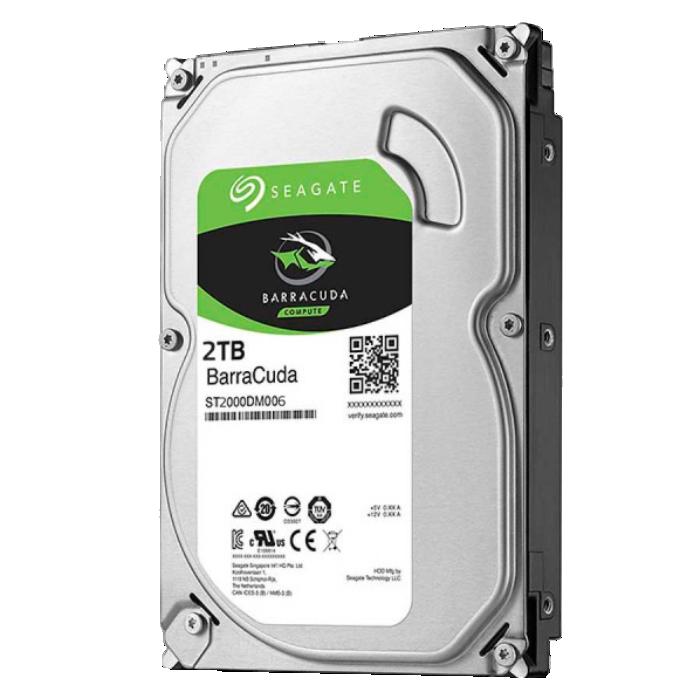 HD Seagate SATA 3,5´ BarraCuda 2TB 7200RPM 64MB Cache SATA 6Gb/s - ST2000DM006