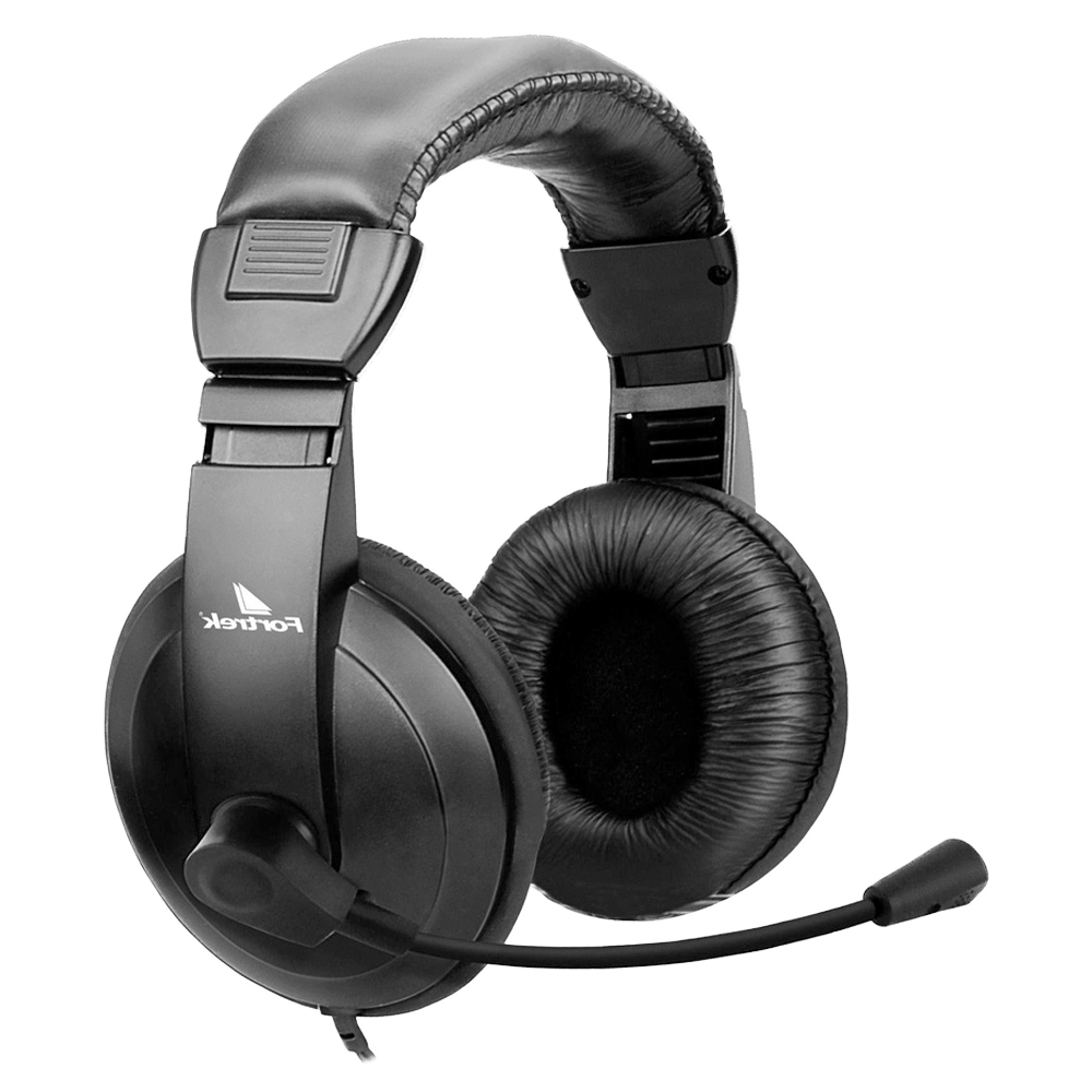 Headset Fortrek Multimídia HSL-102 Preto - 62889