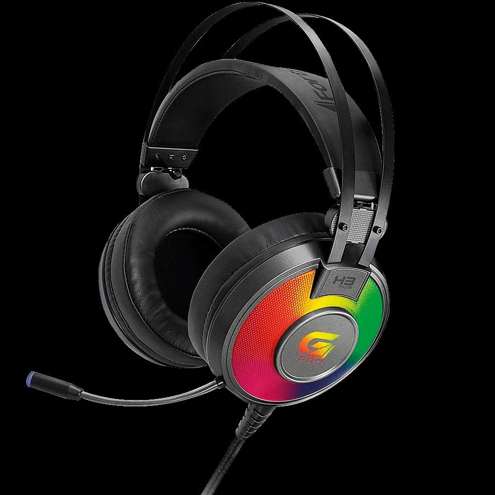 Headset Gamer Fortrek H3 Plus 7.1, USB, Cinza - G Pro