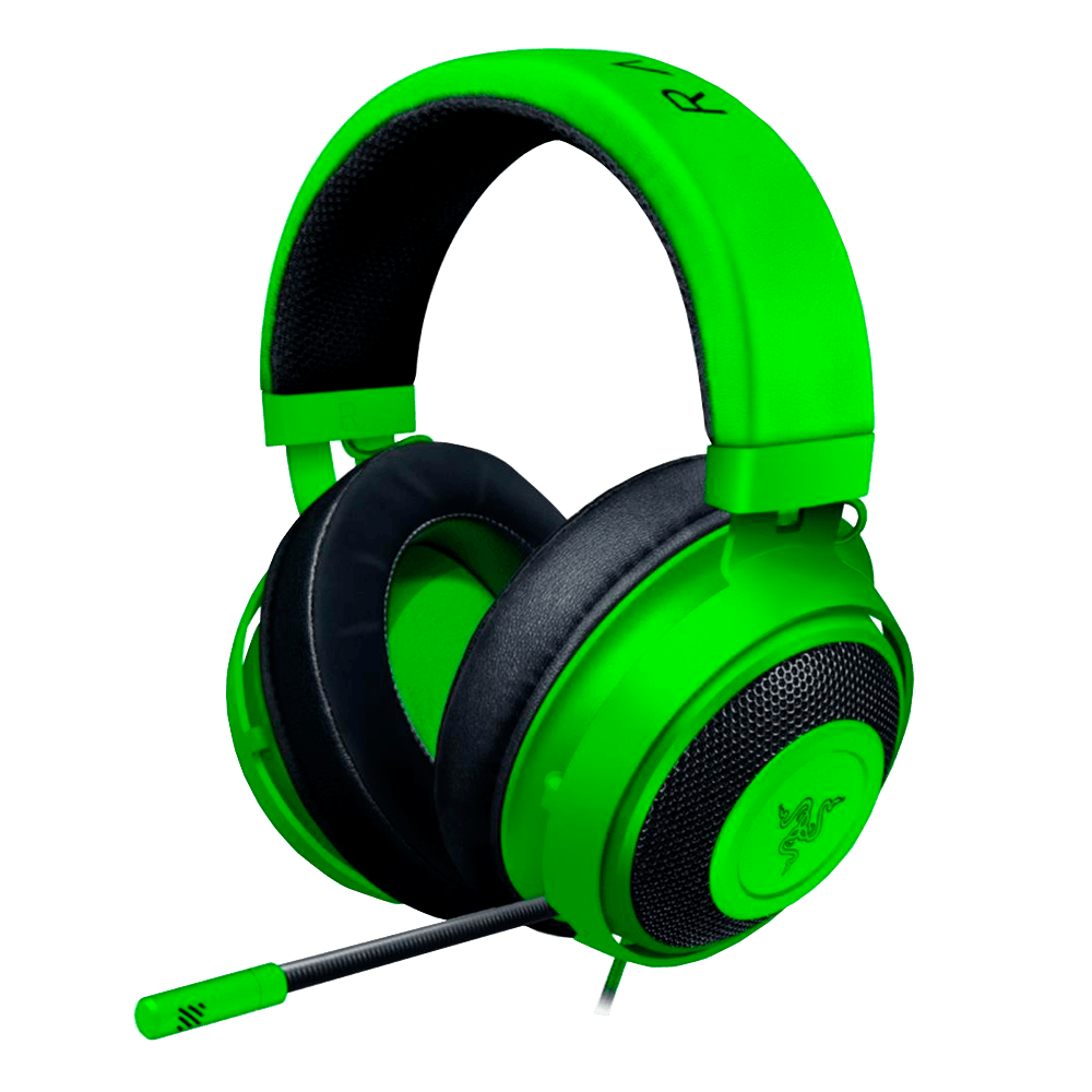 Headset Gamer Razer Kraken Multi Platform, P2, Drivers 50mm, Green - RZ04-02830200-R3U1