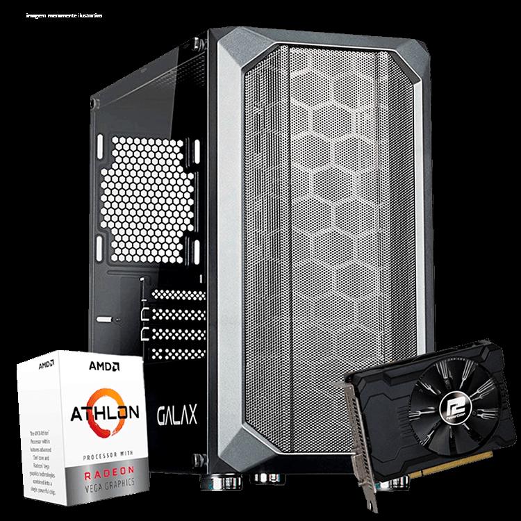 Infohard Battle FPS IV - AMD 3000G / DDR4 8GB / SSD 128GB / 350W