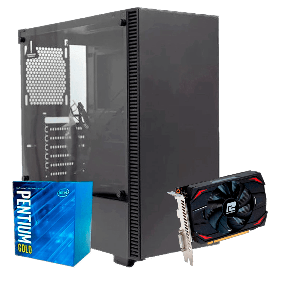 Infohard Beginner IV - INTEL G5400 / DDR4 8GB / SSD 240GB / 500W
