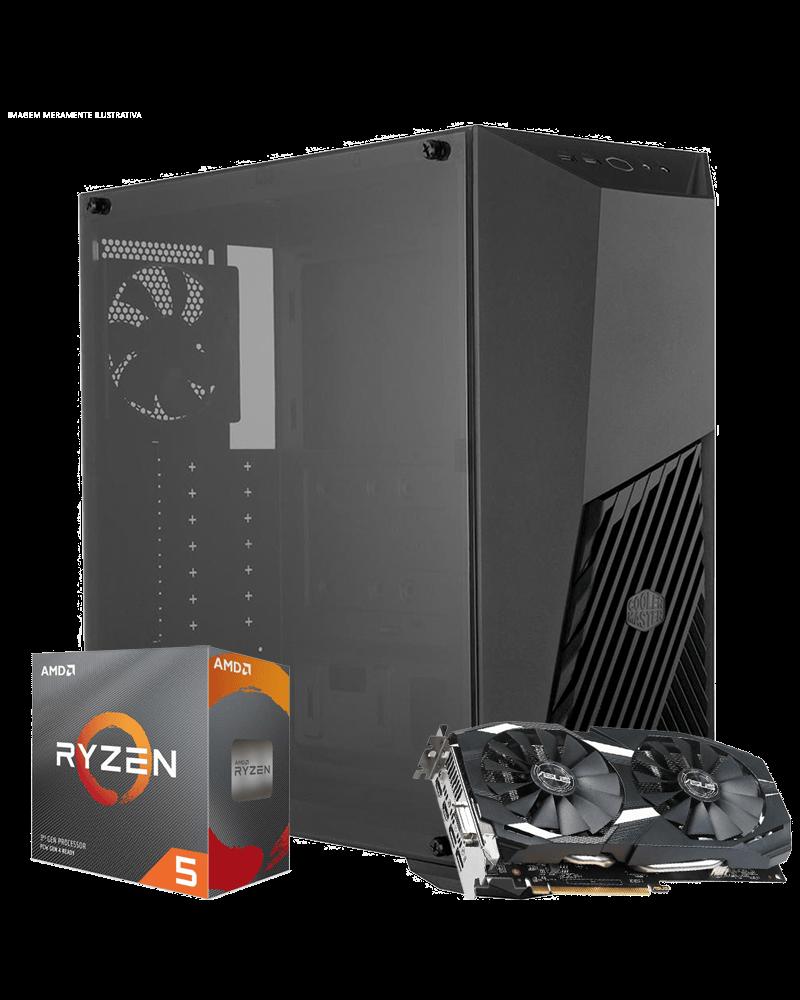 Infohard WAR FPS - Ryzen 5 3600 / RX-580 8GB / DDR4 16GB / SSD 240GB / 500W