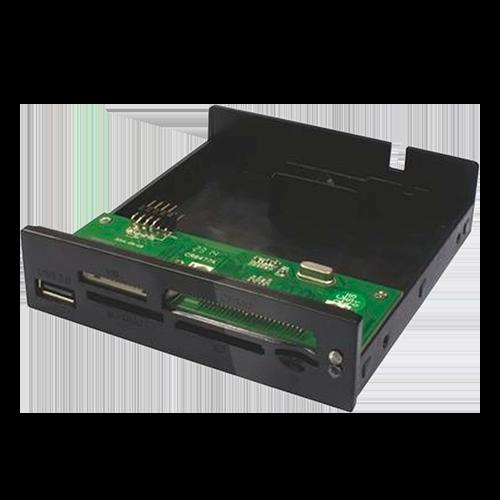 K-Mex Leitor de Cartão Interno AC-IH3221 - Preto USB 2.0