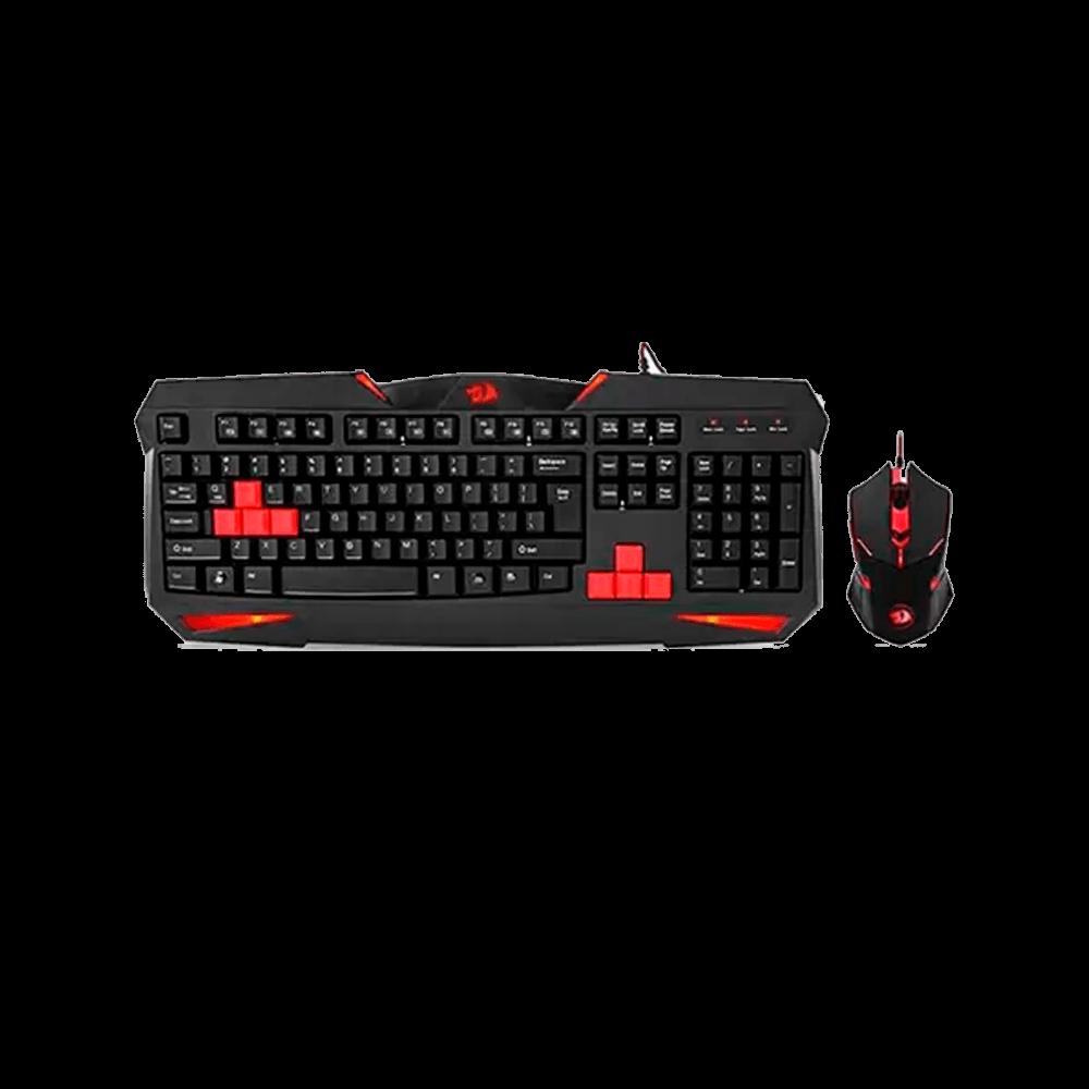Kit Gamer Redragon Teclado e Mouse  - S101-2