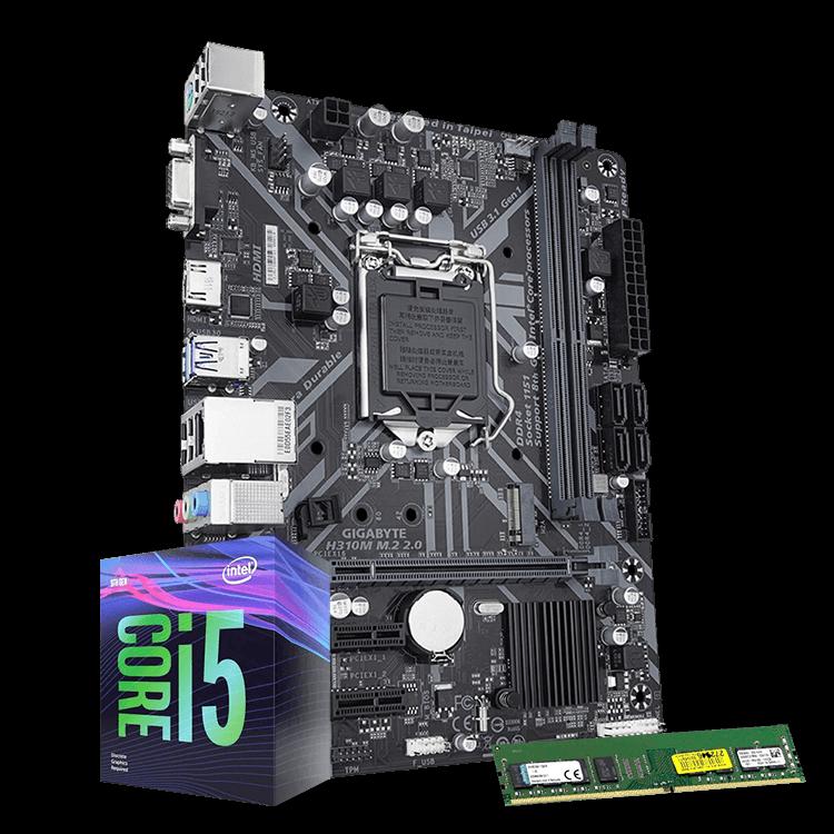 KIT INTEL I5-9400/MB H310/8GB DDR4 2400