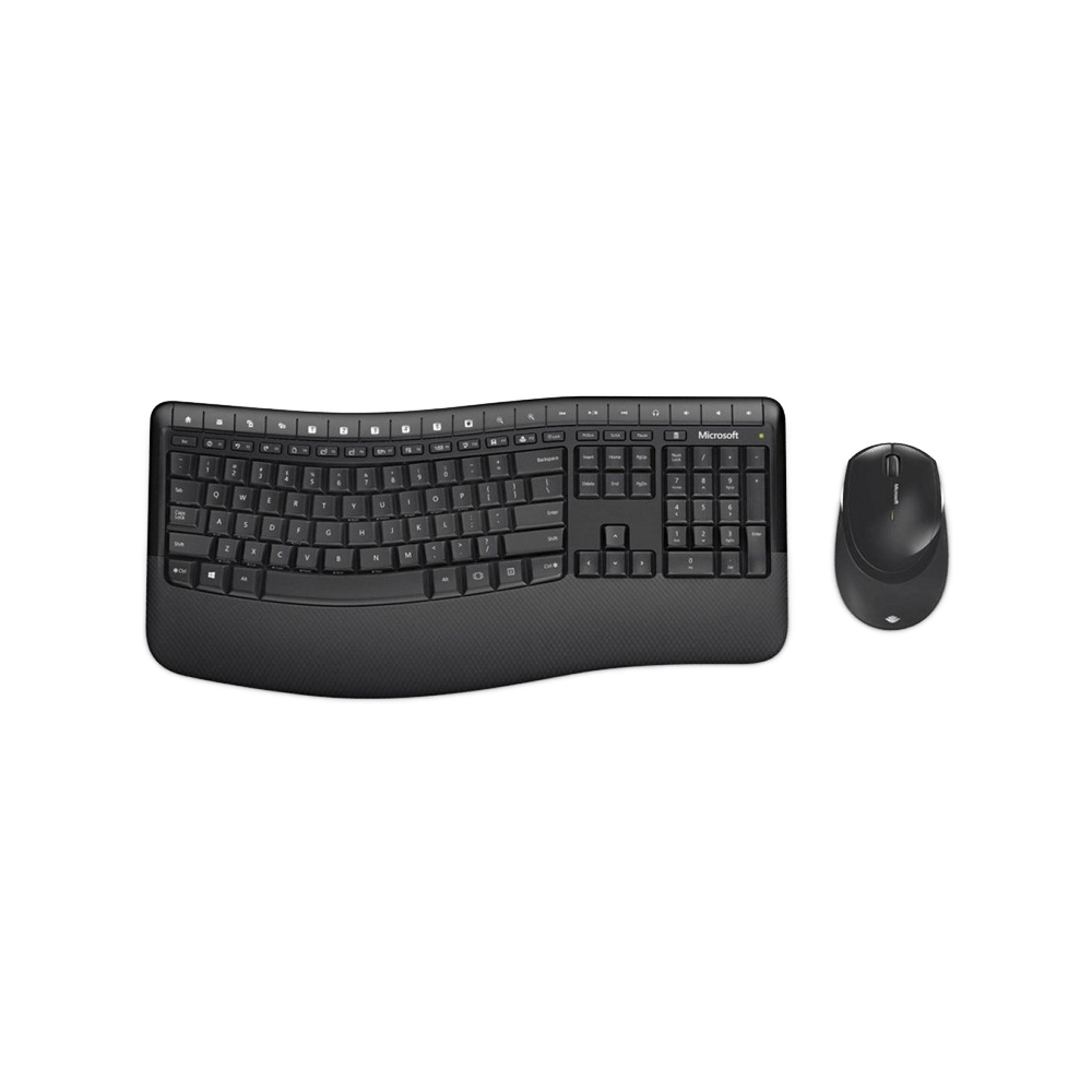 Kit Teclado e Mouse Wireless Comfort Desktop 5050 - PP4-00005