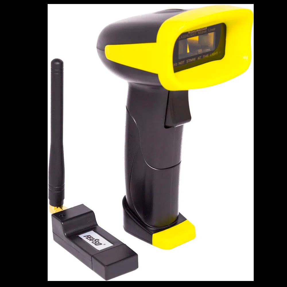 Leitor e Coletor Código de Barras Laser,  Sem Fio,  Wireless / F-COD26 / Feasso