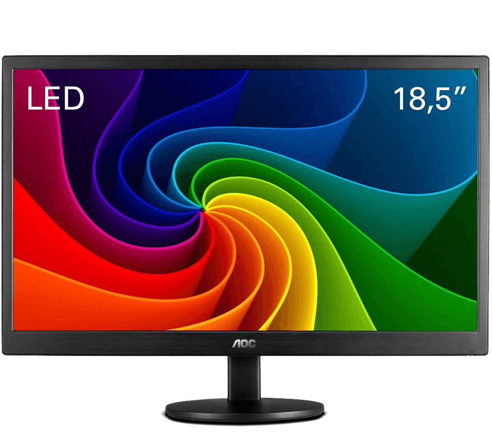 Monitor 18,5 Widescreen LED AOC - E970SWNL