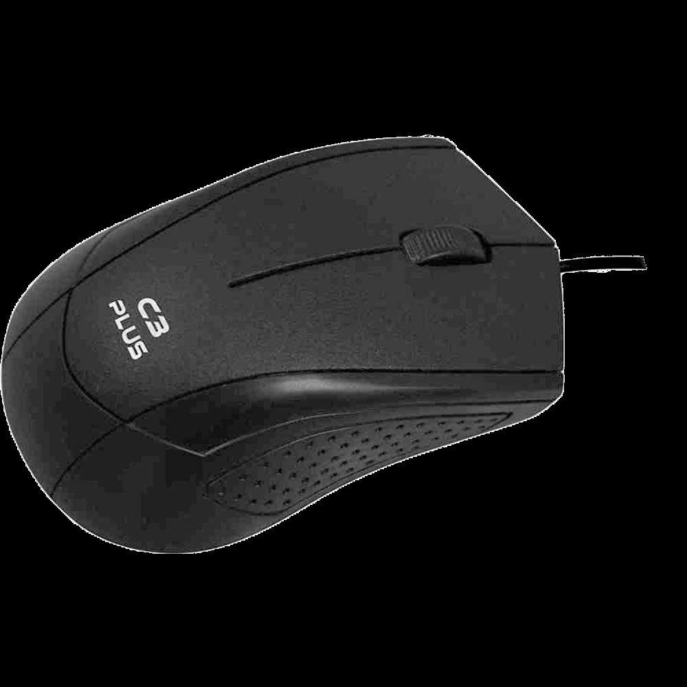 Mouse C3Plus USB - MS-27BK