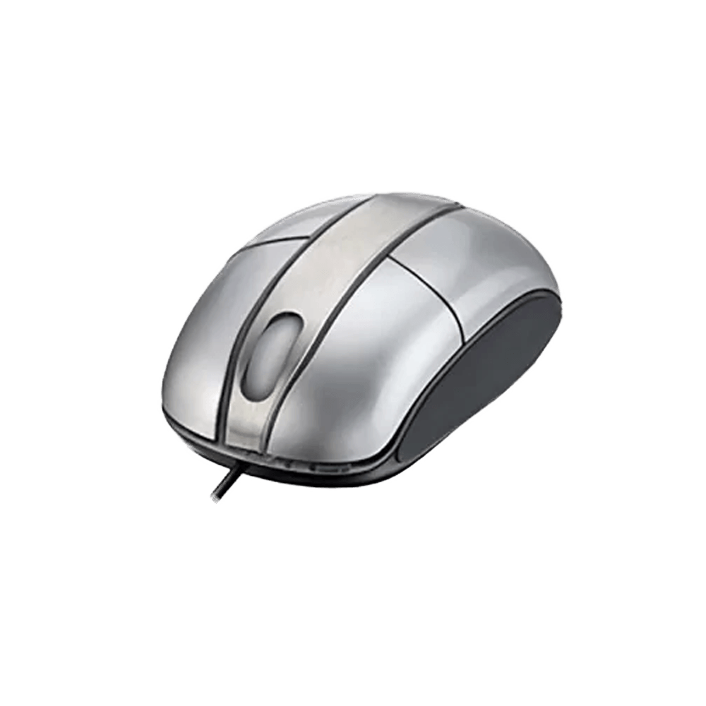 Mouse Colors Steel Silver Piano Usb - Mo135