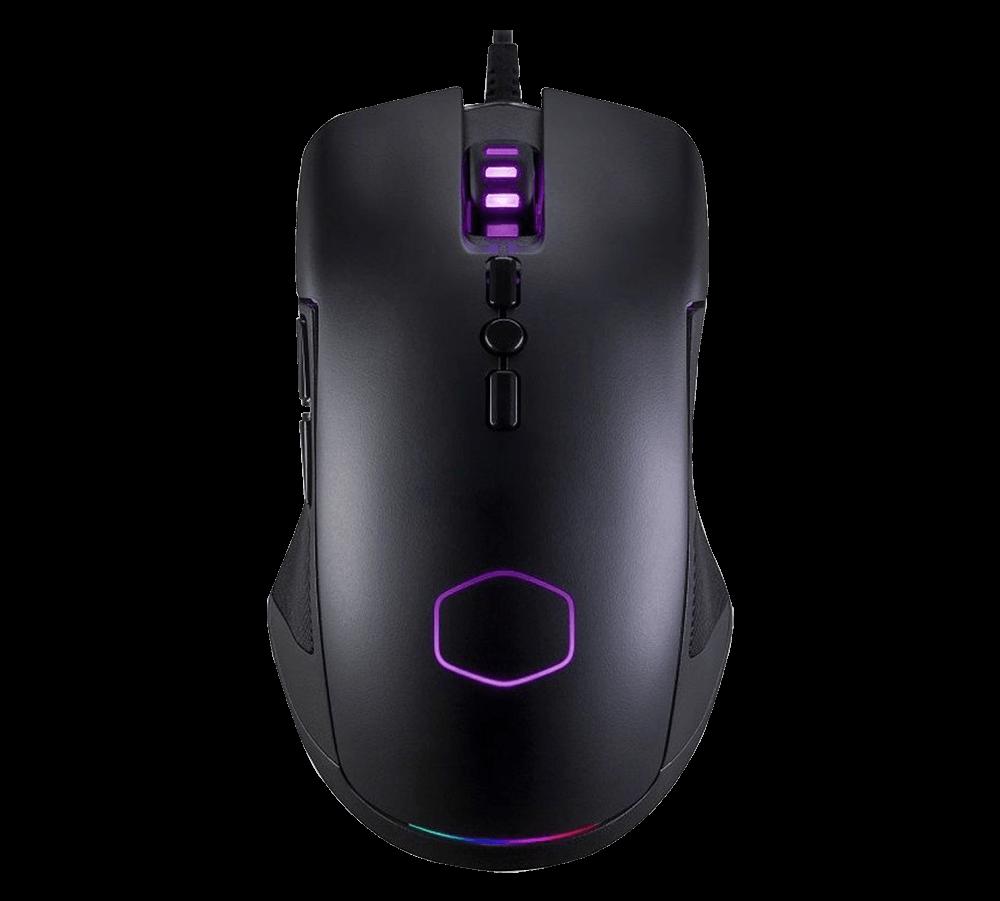 Mouse Gamer Cooler Master CM310 Pixart A3325 10000 DPI RGB Preto