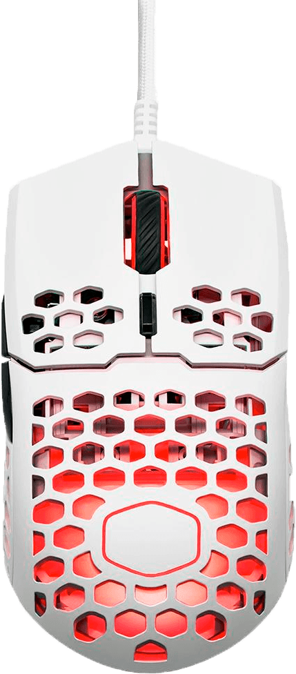 Mouse Gamer Cooler Master MM711, RGB, 6 Botões, 16000DPI, Branco Matte - MM-711-WWOL1