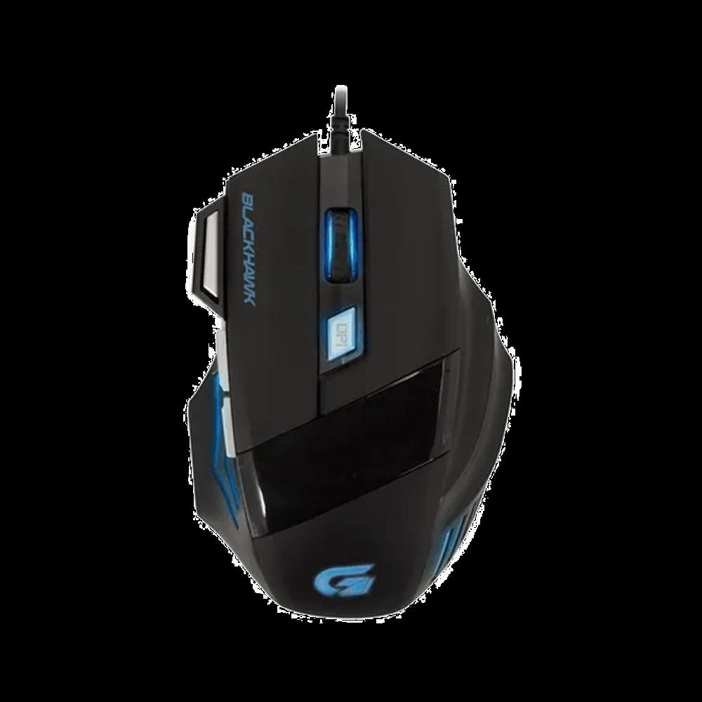 Mouse Gamer Fortrek Óptico USB Black Hawk 2400 dpi OM703 - 52013