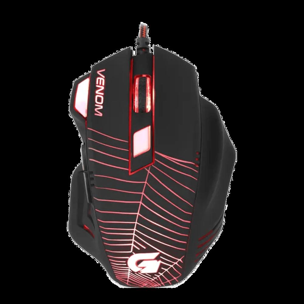 Mouse Gamer Fortrek USB Spider Venom OM704 Preto 55820