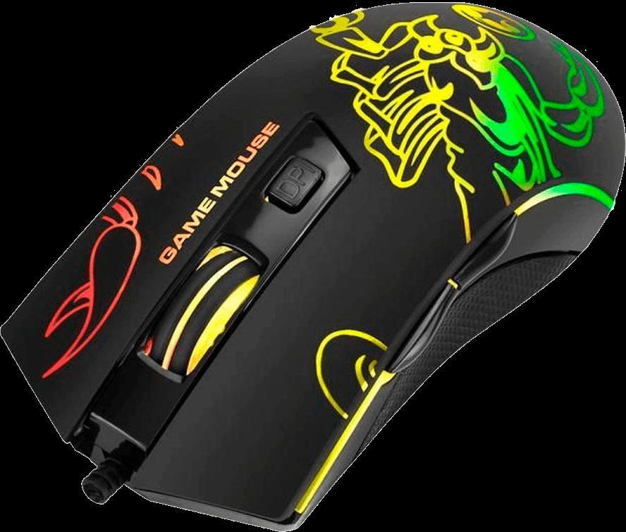 Mouse Gamer Marvo Scorpion M209 6400 Dpi Rgb