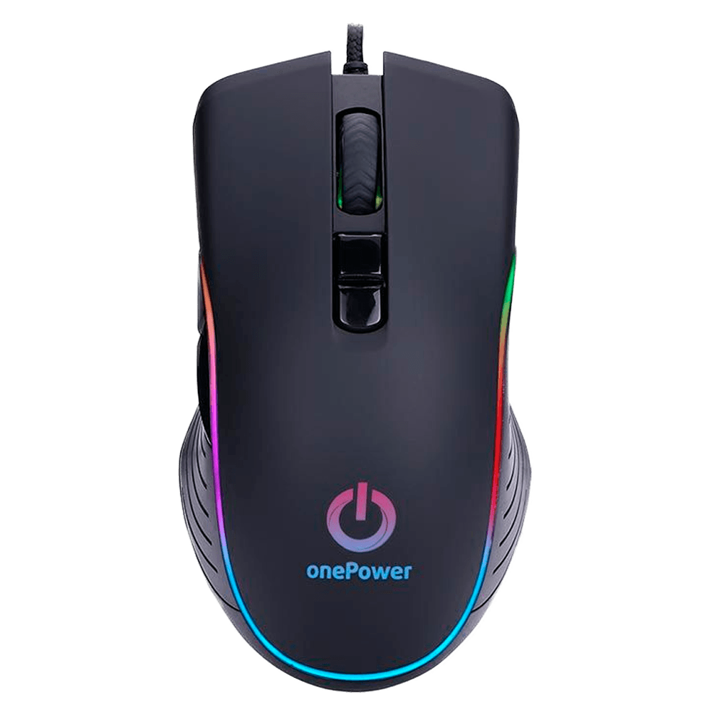 Mouse Gamer Onepower STRIKER RGB 3200DPI, MO-505