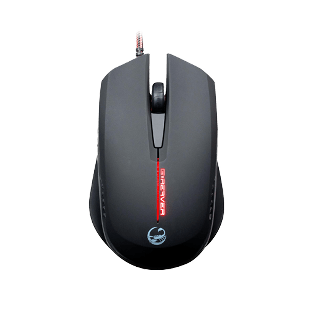 Mouse Gamer Óptico USB 2000DPI Preto - Team Scorpion G-REAVER II