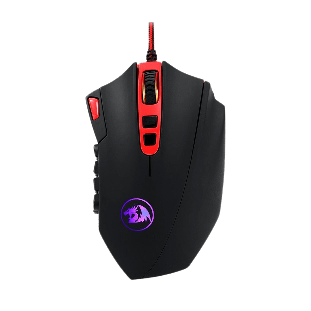 Mouse Gamer Redragon Perdition 2, RGB, 19 Botões, 24000DPI