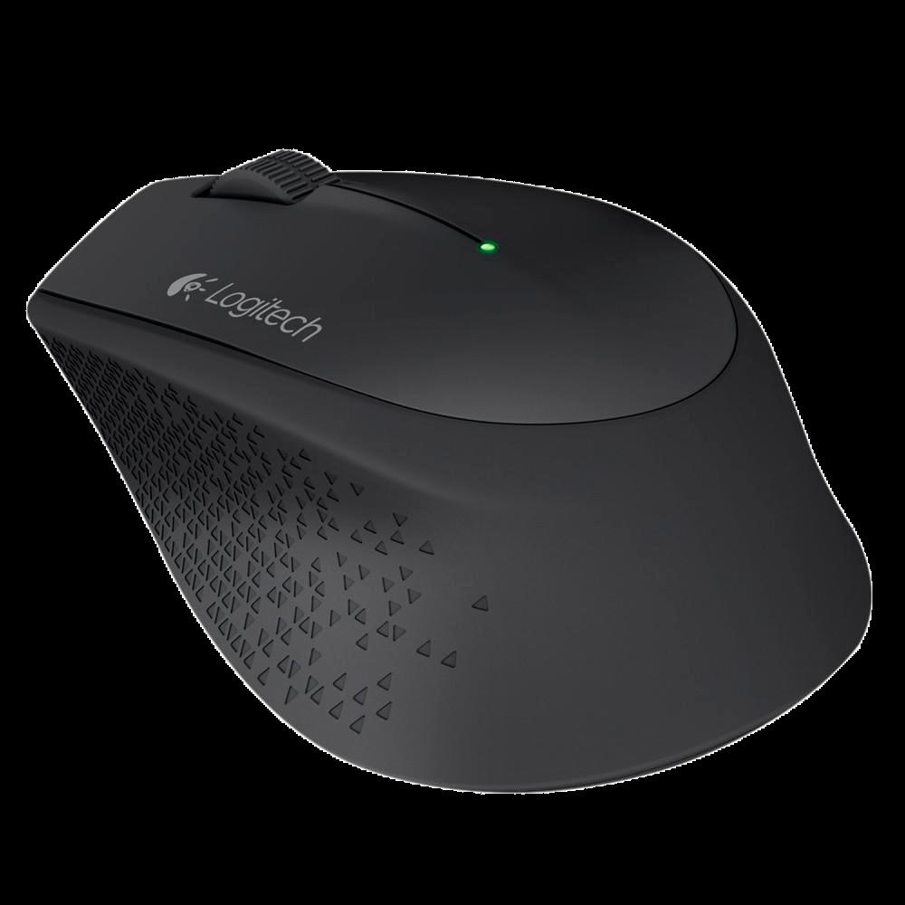 Mouse Logitech M280 Sem Fio Preto 1000DPI - 910-004284
