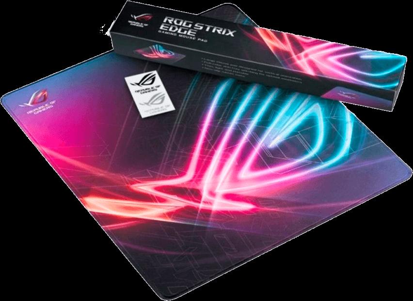 Mouse Pad Asus Rog Strix Edge Large Speed 40cm X 45cm X 3mm - NC03-ROG STRIX EDGE