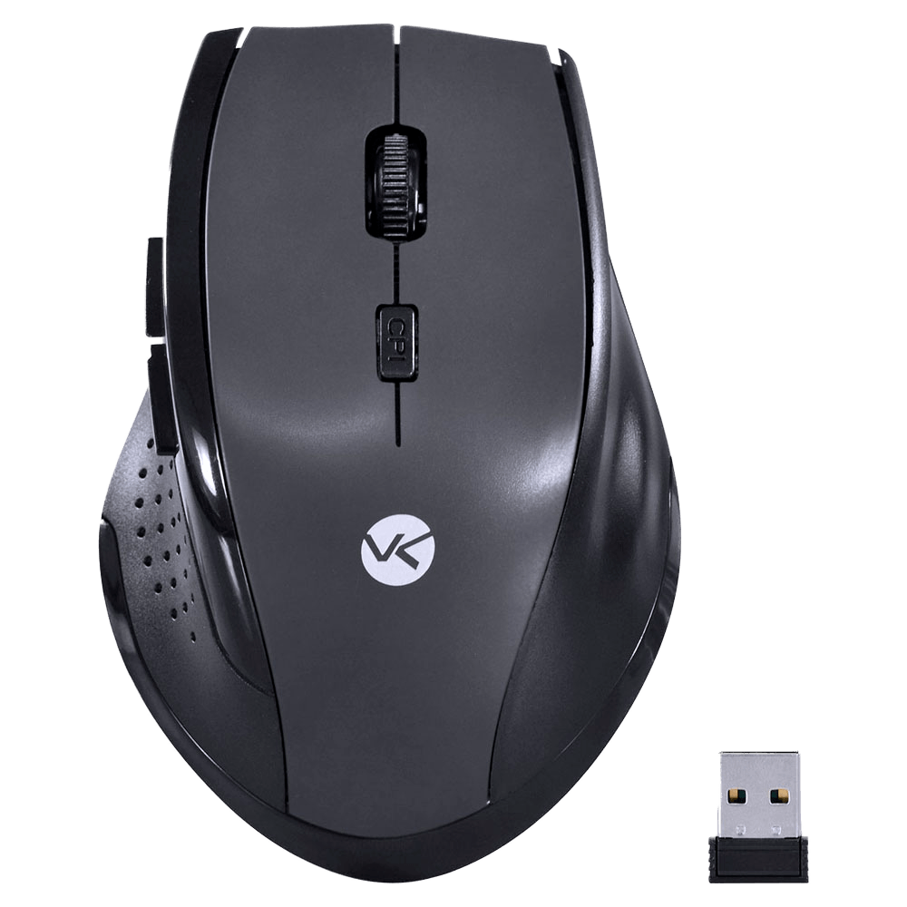 Mouse Sem Fio Híbrido 2.4 Ghz + Bluetooth 4.0 1200 Dpi Dynamic Ergo Space Gray - Dm122
