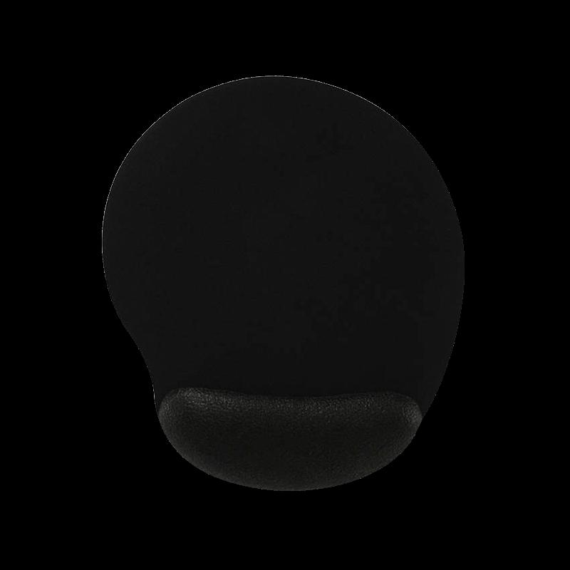 Mousepad Ergonômico Com Base Antiderrapante Preto Reliza