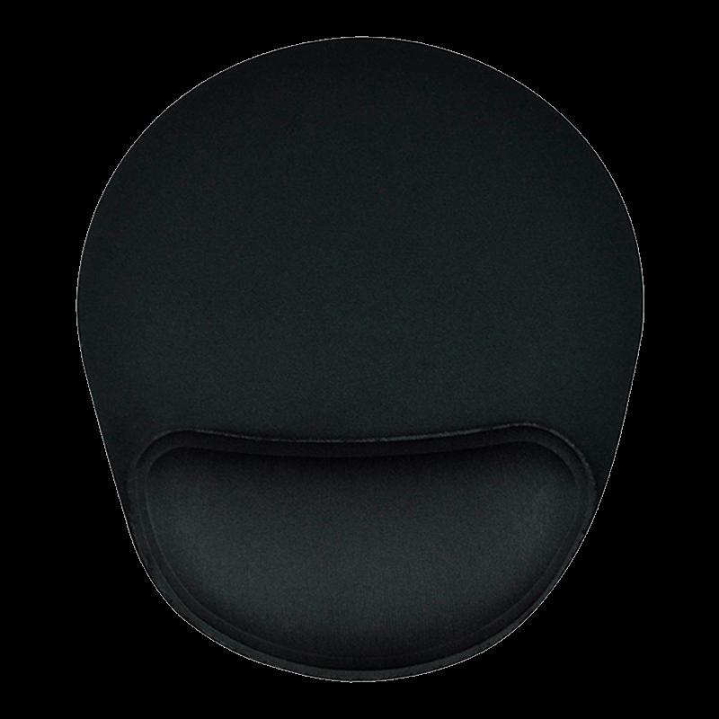 Mousepad Ergonômico Reliza Confort Full Black Neoprene Preto