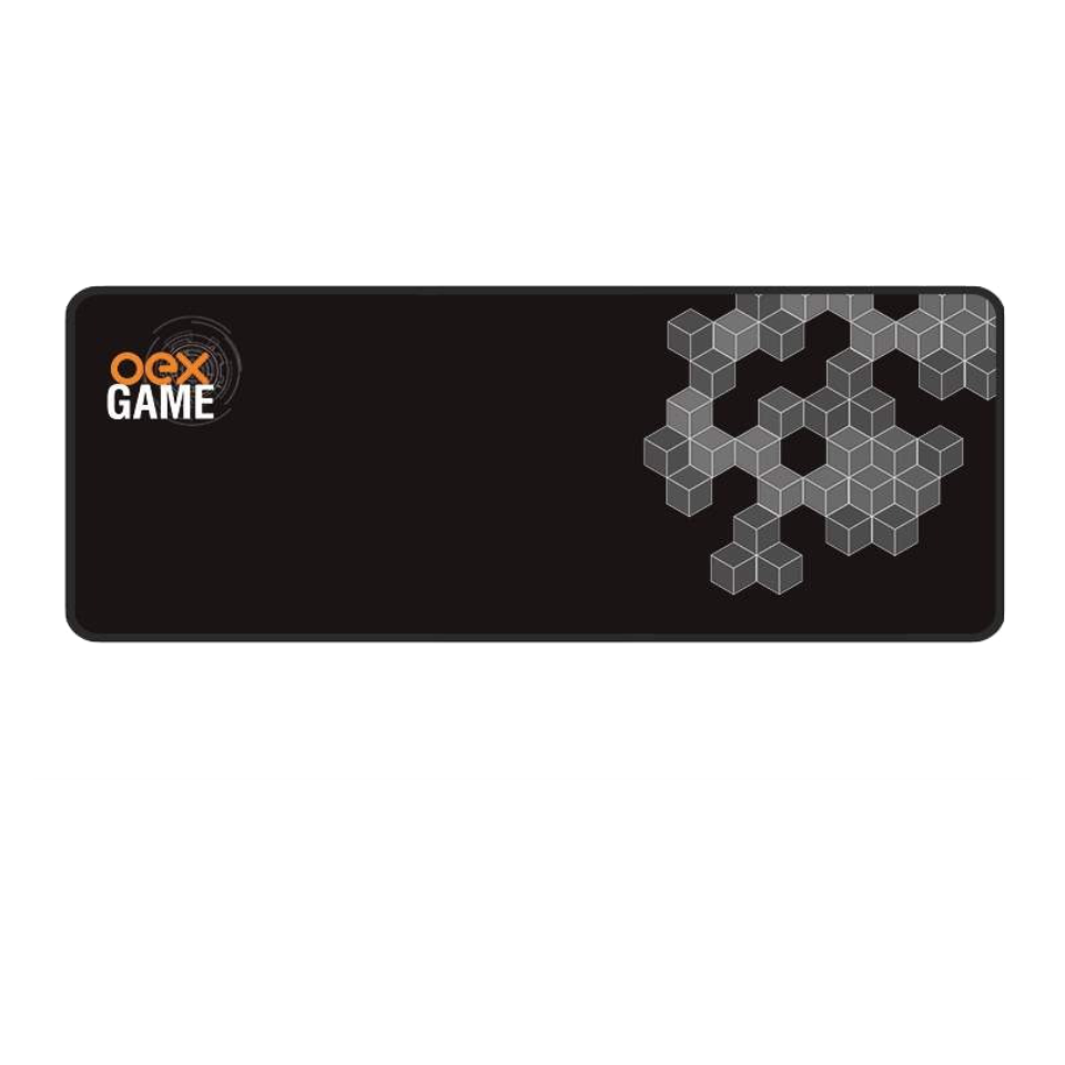 Mousepad Gamer OEX Dimension Control Borda Costurada, 79cm x 30cm - MP-305