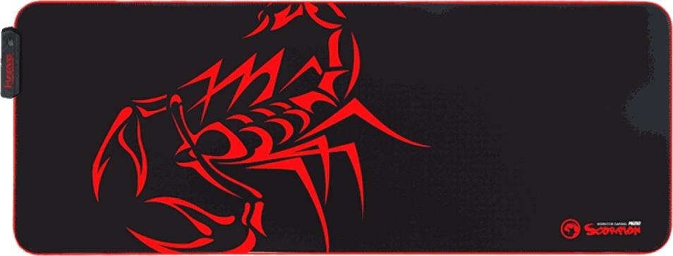 Mousepad Marvo Gamer Scorpion, Speed, Grande, RGB, MG010, 800 x 305 x 3 mm