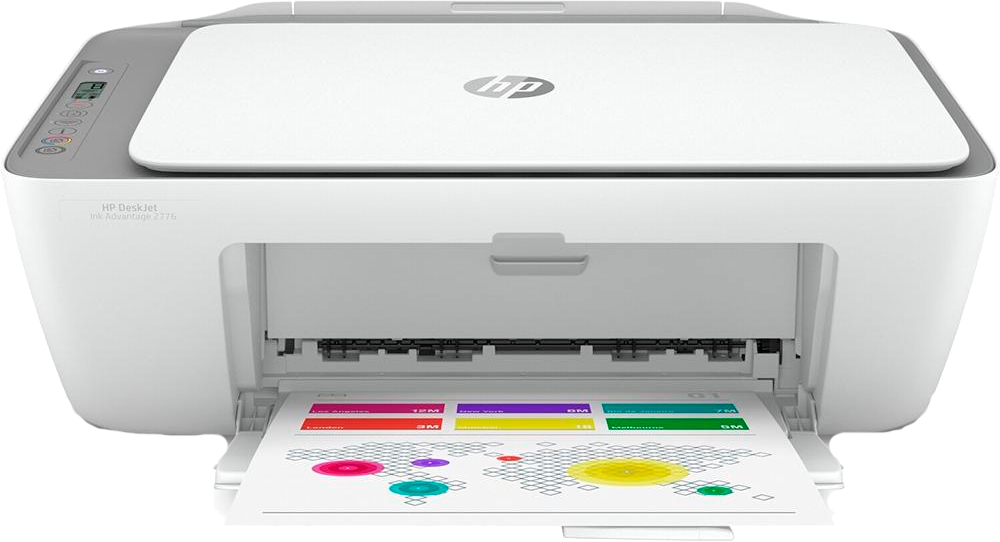 Multifuncional HP DeskJet Ink Advantage 2776, Jato de Tinta, Colorida, Wi-Fi, Bivolt - 2776