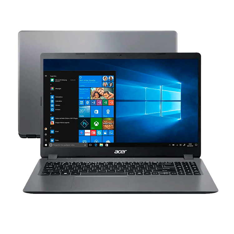 "Notebook Acer Aspire 3 Intel Core i3 - 4GB 120GB 15,6"" Windows 10"
