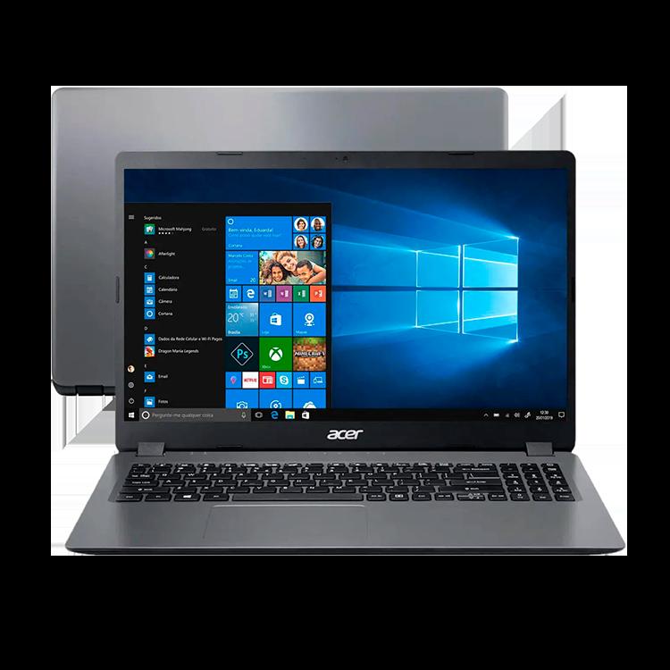 "Notebook Acer Aspire 3 Intel Core i3 - 4GB 480GB 15,6"" Windows 10"