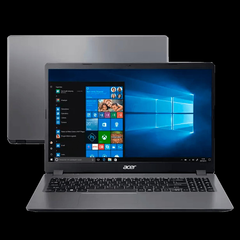 Notebook Acer Aspire 3 Intel Core i5-1035G1, 4GB, SSD 256GB, Windows 10 Pro, 15.6´, Gray - A315-56-WIN