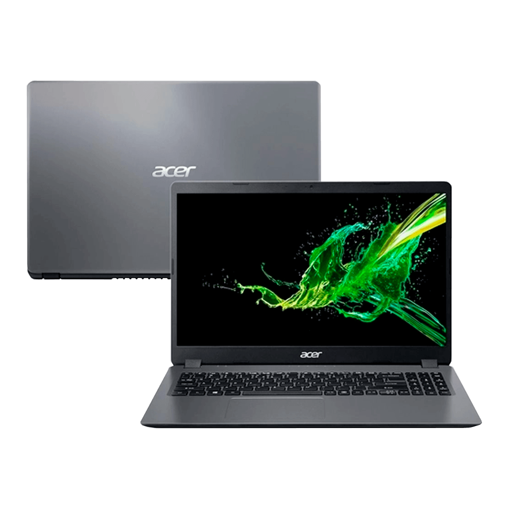 Notebook Acer Aspire 3 Intel Core i5-1035G1, 8GB, SSD 256GB, Windows 10 Pro, 15.6´, Gray - A315-56-56-256W8