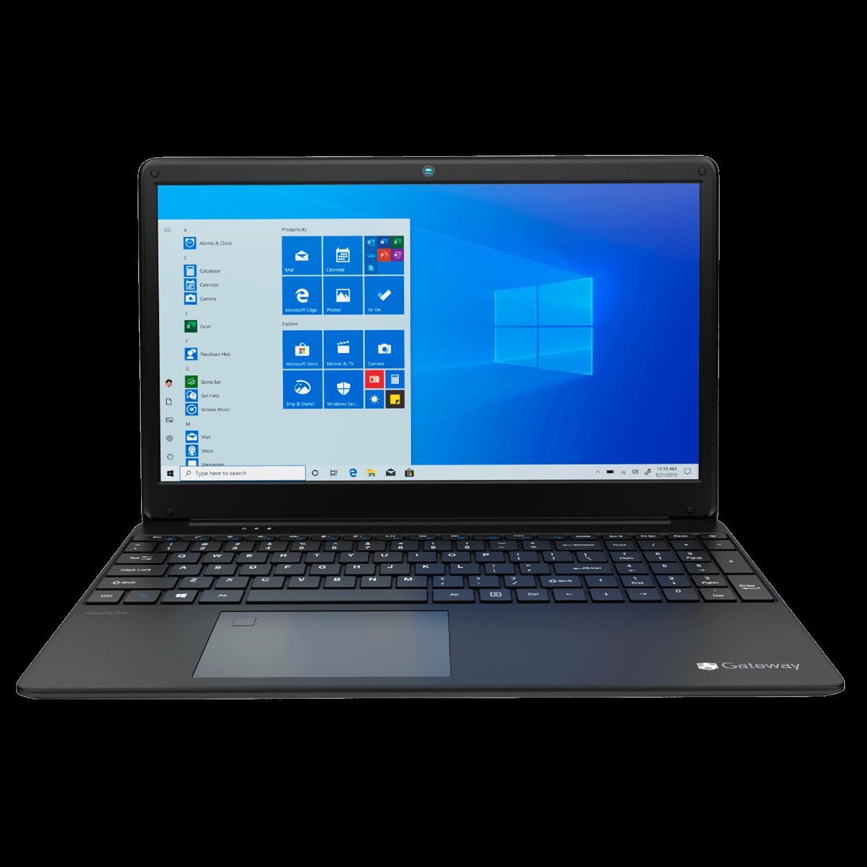 Notebook Gateway Ryzen 5 3450u, 8GB, 256GB SSD,15.6 LCD IPS Display, (1920 x 1080), PRETO - GWTN156-4