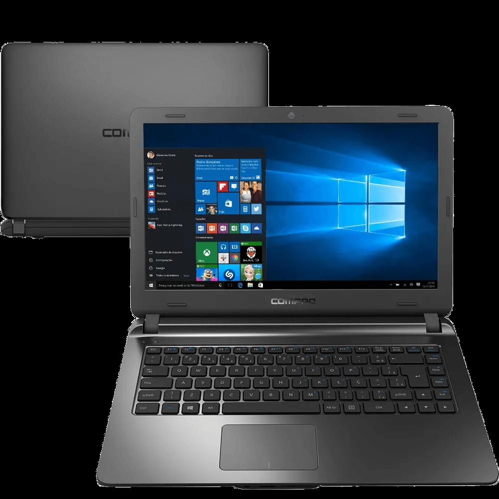 NOTEBOOK COMPAQ PENTIUM 4GB/SSD120/W10