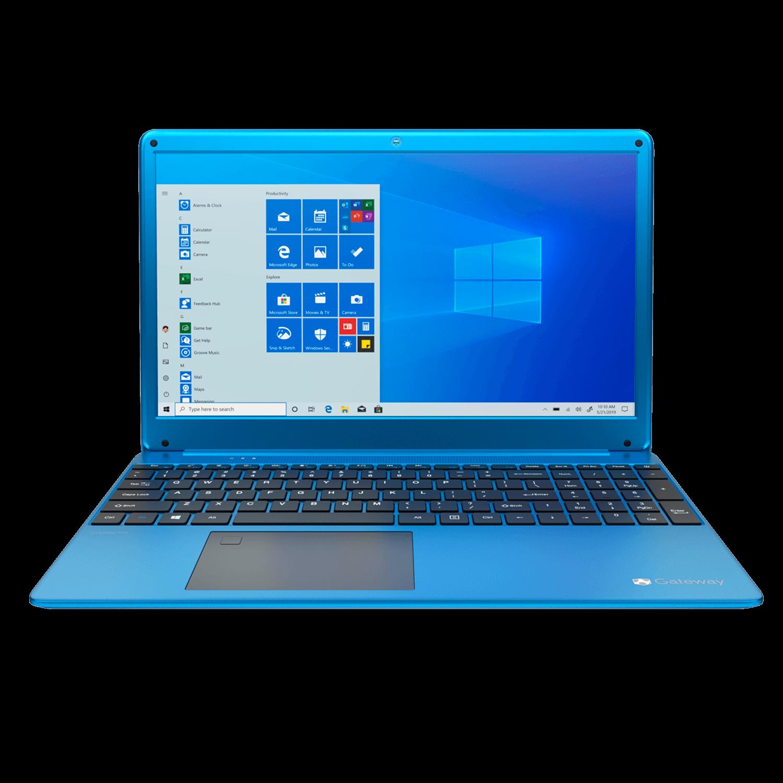 Notebook Gateway Ryzen 5 3450u, 8GB, 256GB SSD, 15.6 LCD IPS Display (1920 x 1080), AZUL - GWTN156-4