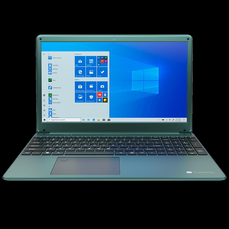 Notebook Gateway Ryzen 5 3450u, 8GB, 256GB SSD,15.6 LCD IPS Display, (1920 x 1080), VERDE - GWTN156-4