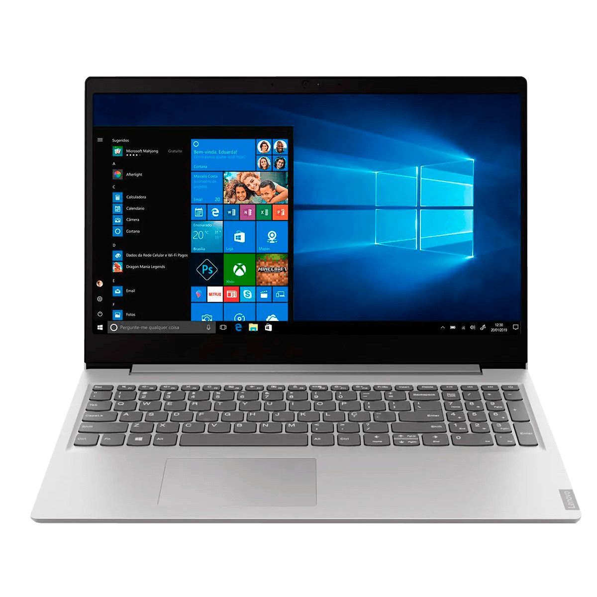 Notebook Lenovo Ideapad S145 Intel Core i3 4GB 1TB LCD Windows 10 Home - 82DJ0002BR