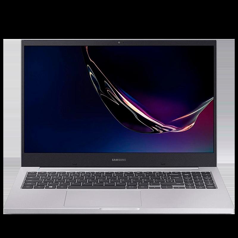 Notebook Samsung Book E20 Intel Dual-Core, 4GB, 500GB, Windows 10 Home, Prata - NP550XCJ-KO1BR