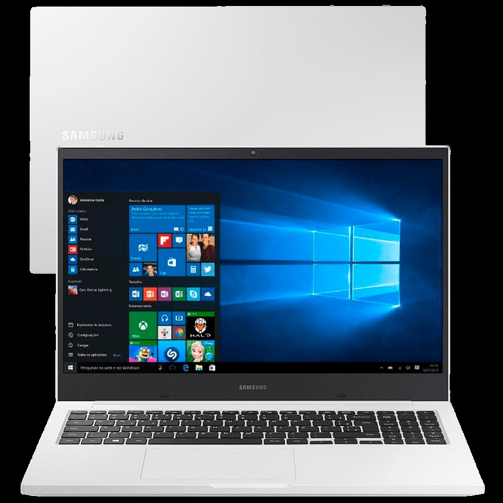 Notebook Samsung Book X40 Intel Core i5-10210U 10ª Geração 8GB, 1TB, Placa de Vídeo 2GB, 15.6'' Windows 10 Home NP550XCJ-XF2BR - Branco