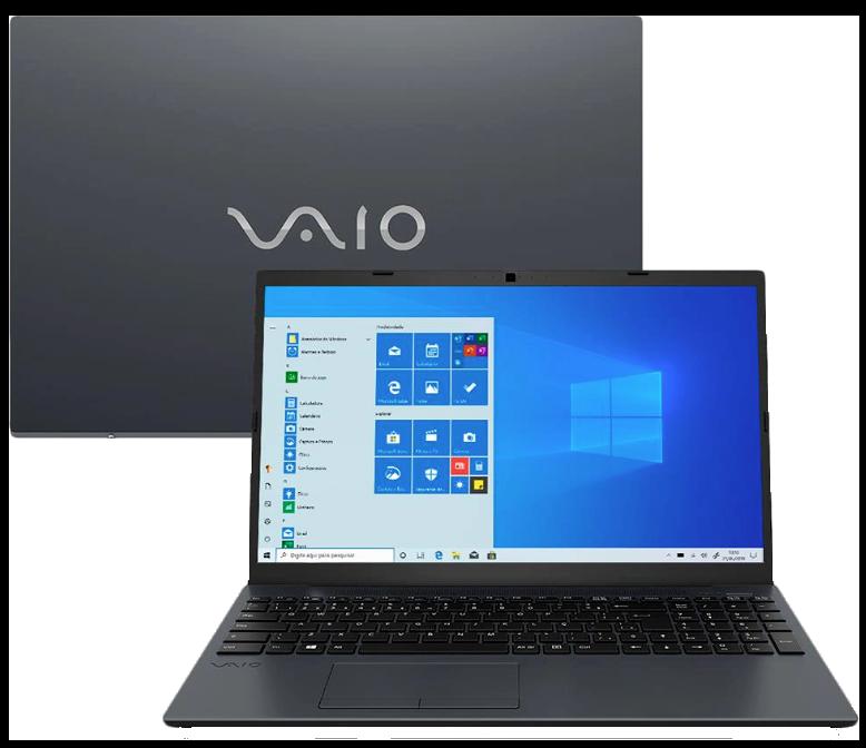 Notebook Vaio FE15 Core i7 10ª geração 8GB 1TB + SSD M.2 120GB  Windows 10 Home 15.6
