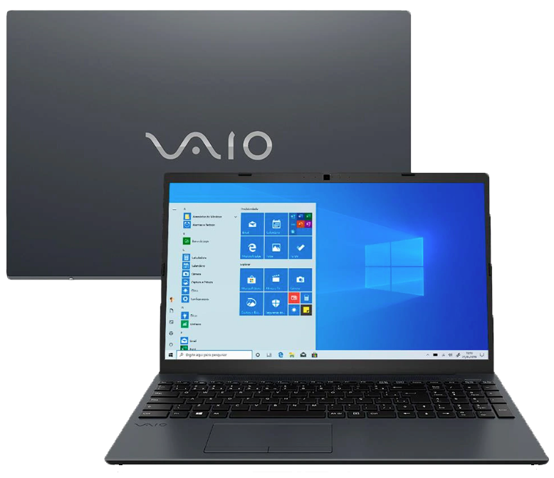 Notebook Vaio FE15 Core i7 10ª geração 8GB 1TB Windows 10 Home 15.6