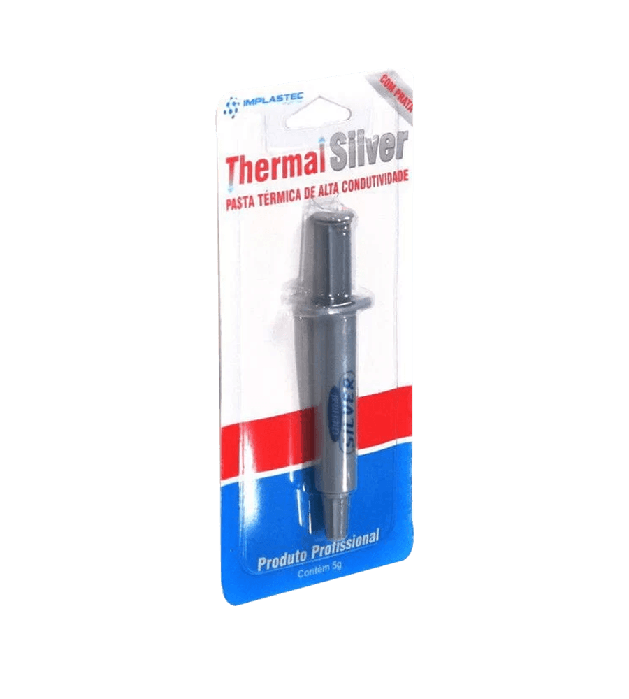 Pasta Térmica Implastec Thermal Silver Seringa 5G - 35390