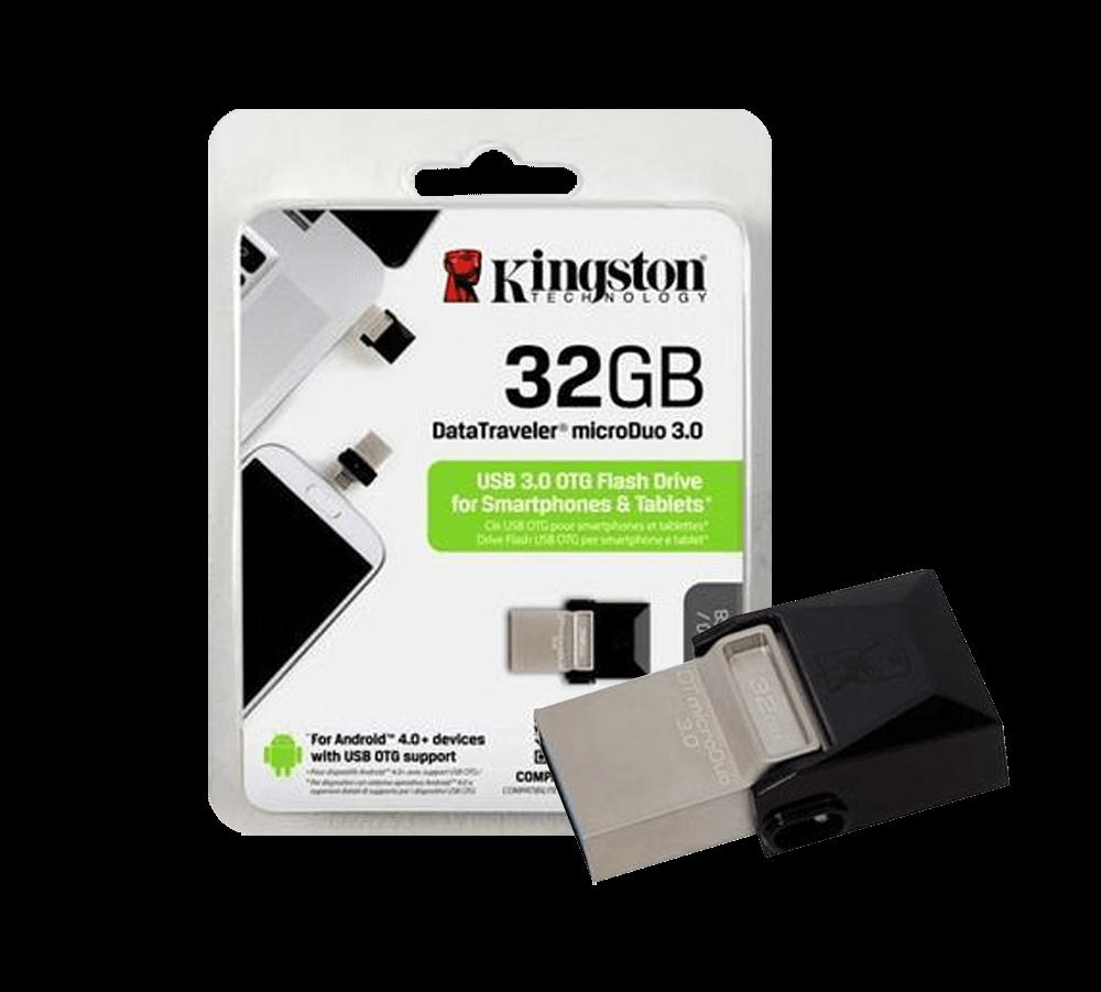Pendrive kingston Datatraveler 32GB USB 3.0 - DTDUO3/32GB