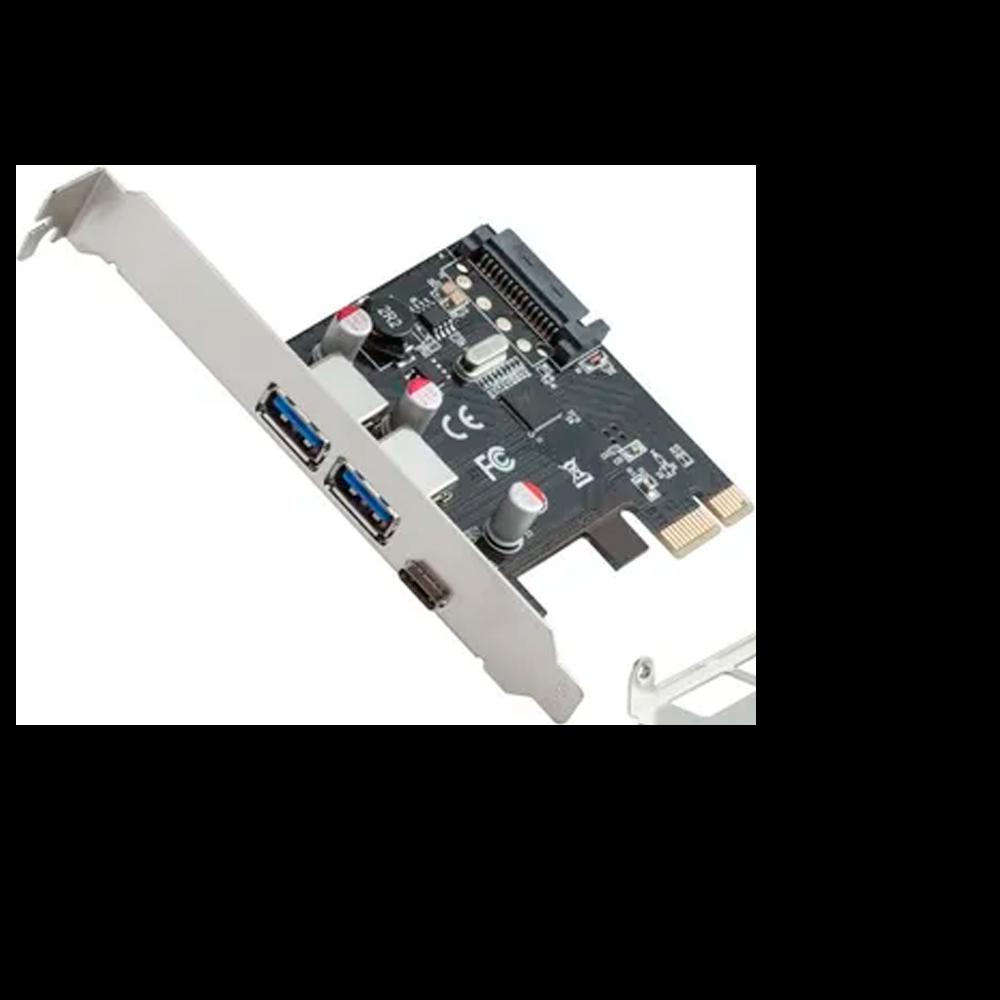 Placa C3 Tech PCI-E to USB c/ 2 Portas USB3.0 - PU-2301