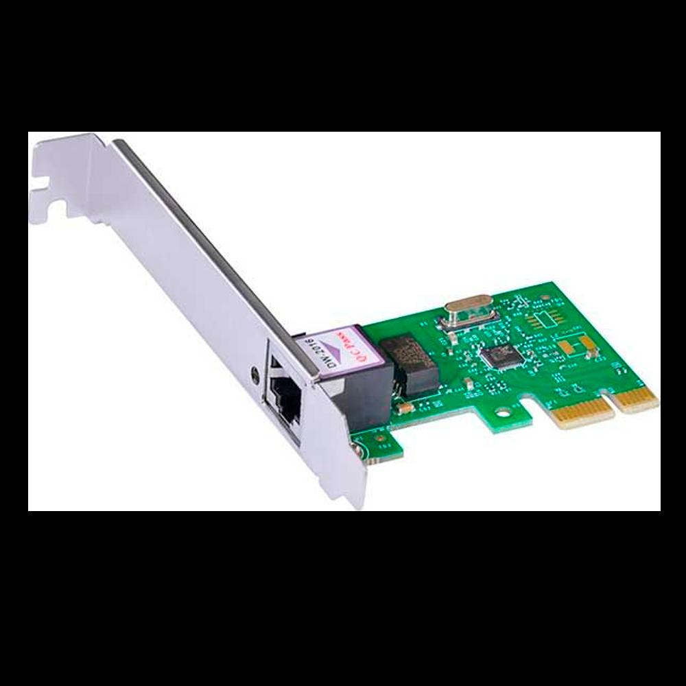 Placa de Rede Vinik PRV1000e Low Profile PCI-E 10/100/1000Mbps - 26261