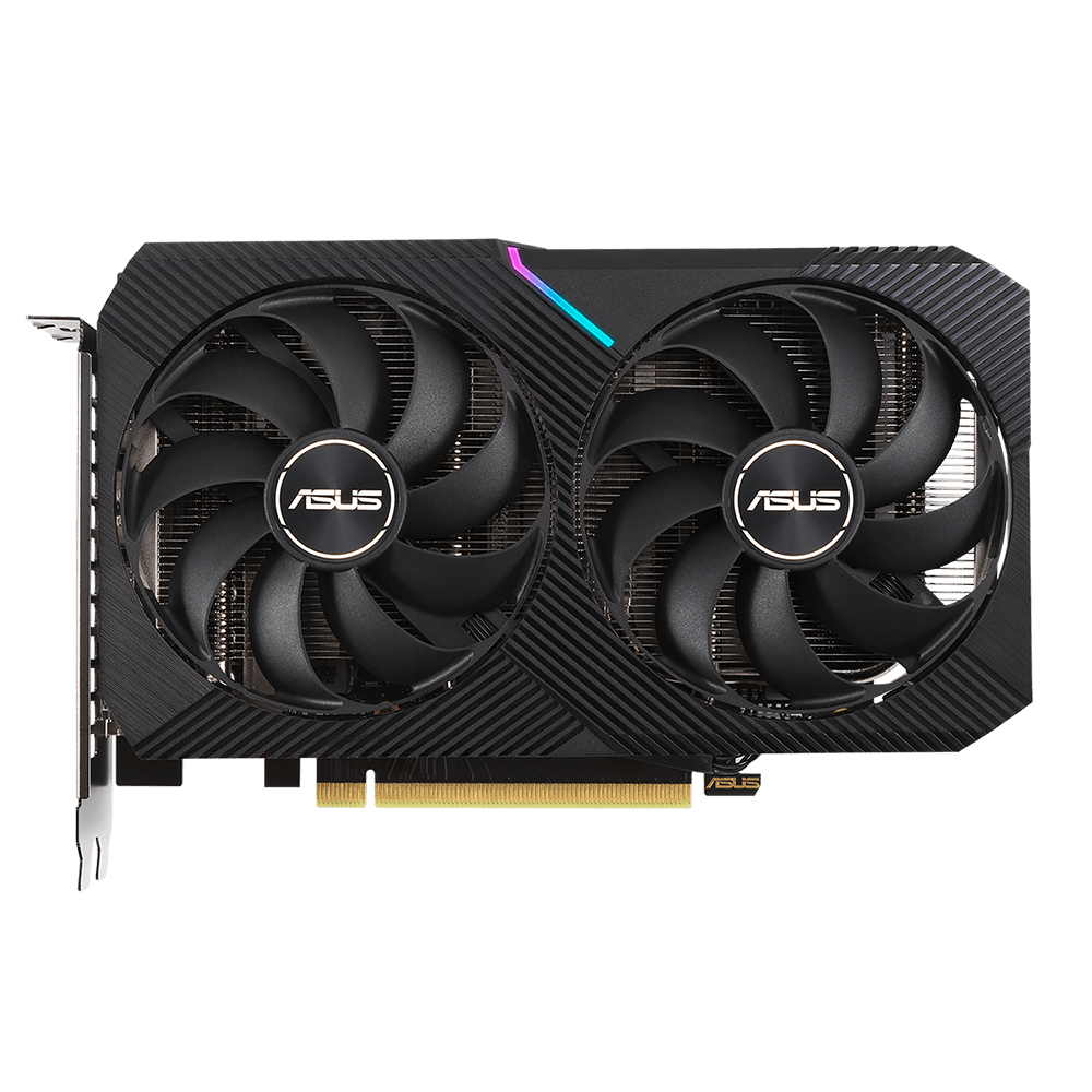 Placa De Vídeo Geforce Asus Rtx 3060 Oc Edition,, 12GB, Gddr6, 192 Bits - Dual-rtx3060-o12g